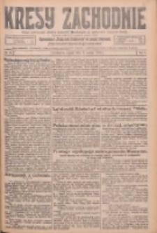 Kresy Zachodnie: pismo poświęcone obronie interesów narodowych na zachodnich ziemiach Polski 1926.03.05 R.4 Nr52