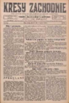 Kresy Zachodnie: pismo poświęcone obronie interesów narodowych na zachodnich ziemiach Polski 1926.03.09 R.4 Nr55