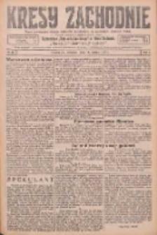 Kresy Zachodnie: pismo poświęcone obronie interesów narodowych na zachodnich ziemiach Polski 1926.03.11 R.4 Nr57