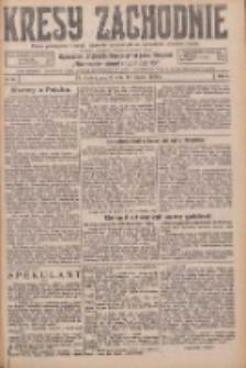Kresy Zachodnie: pismo poświęcone obronie interesów narodowych na zachodnich ziemiach Polski 1926.03.12 R.4 Nr58