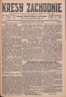 Kresy Zachodnie: pismo poświęcone obronie interesów narodowych na zachodnich ziemiach Polski 1926.03.19 R.4 Nr64