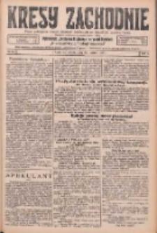 Kresy Zachodnie: pismo poświęcone obronie interesów narodowych na zachodnich ziemiach Polski 1926.03.20 R.4 Nr65