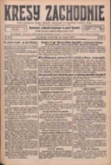 Kresy Zachodnie: pismo poświęcone obronie interesów narodowych na zachodnich ziemiach Polski 1926.03.23 R.4 Nr67