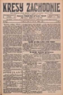 Kresy Zachodnie: pismo poświęcone obronie interesów narodowych na zachodnich ziemiach Polski 1926.03.29 R.4 Nr69