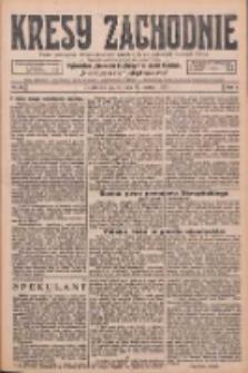 Kresy Zachodnie: pismo poświęcone obronie interesów narodowych na zachodnich ziemiach Polski 1926.03.26 R.4 Nr70