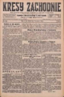 Kresy Zachodnie: pismo poświęcone obronie interesów narodowych na zachodnich ziemiach Polski 1926.03.27 R.4 Nr71