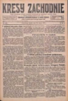 Kresy Zachodnie: pismo poświęcone obronie interesów narodowych na zachodnich ziemiach Polski 1926.03.30 R.4 Nr73