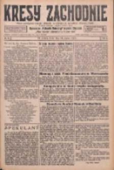 Kresy Zachodnie: pismo poświęcone obronie interesów narodowych na zachodnich ziemiach Polski 1926.03.31 R.4 Nr74