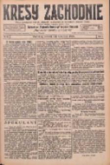 Kresy Zachodnie: pismo poświęcone obronie interesów narodowych na zachodnich ziemiach Polski 1926.04.01 R.4 Nr75