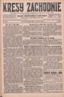 Kresy Zachodnie: pismo poświęcone obronie interesów narodowych na zachodnich ziemiach Polski 1926.04.02 R.4 Nr76
