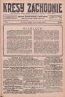 Kresy Zachodnie: pismo poświęcone obronie interesów narodowych na zachodnich ziemiach Polski 1926.04.04 R.4 Nr78