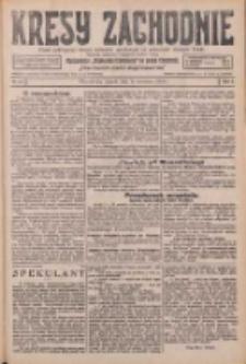 Kresy Zachodnie: pismo poświęcone obronie interesów narodowych na zachodnich ziemiach Polski 1926.04.09 R.4 Nr81