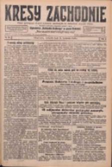 Kresy Zachodnie: pismo poświęcone obronie interesów narodowych na zachodnich ziemiach Polski 1926.04.11 R.4 Nr83