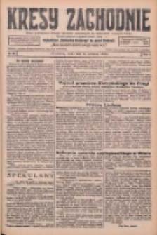 Kresy Zachodnie: pismo poświęcone obronie interesów narodowych na zachodnich ziemiach Polski 1926.04.14 R.4 Nr85