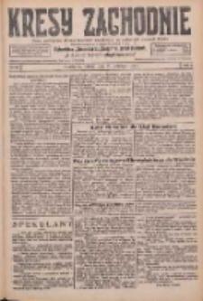 Kresy Zachodnie: pismo poświęcone obronie interesów narodowych na zachodnich ziemiach Polski 1926.04.17 R.4 Nr88