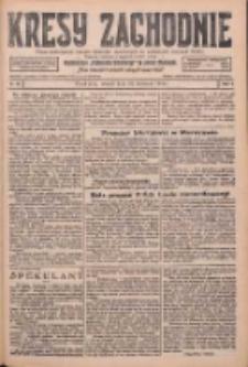 Kresy Zachodnie: pismo poświęcone obronie interesów narodowych na zachodnich ziemiach Polski 1926.04.20 R.4 Nr90
