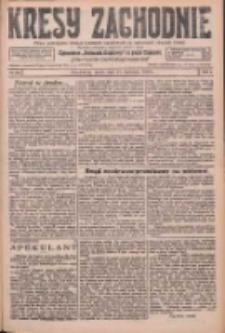 Kresy Zachodnie: pismo poświęcone obronie interesów narodowych na zachodnich ziemiach Polski 1926.04.21 R.4 Nr91