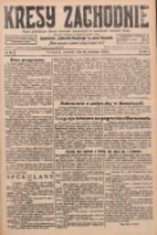 Kresy Zachodnie: pismo poświęcone obronie interesów narodowych na zachodnich ziemiach Polski 1926.04.29 R.4 Nr98
