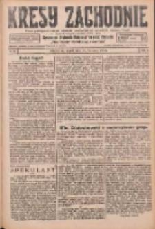 Kresy Zachodnie: pismo poświęcone obronie interesów narodowych na zachodnich ziemiach Polski 1926.04.30 R.4 Nr99