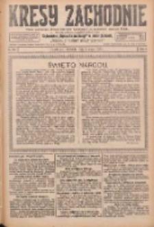 Kresy Zachodnie: pismo poświęcone obronie interesów narodowych na zachodnich ziemiach Polski 1926.05.02 R.4 Nr101