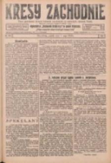 Kresy Zachodnie: pismo poświęcone obronie interesów narodowych na zachodnich ziemiach Polski 1926.05.07 R.4 Nr104