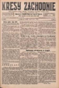 Kresy Zachodnie: pismo poświęcone obronie interesów narodowych na zachodnich ziemiach Polski 1926.05.08 R.4 Nr105