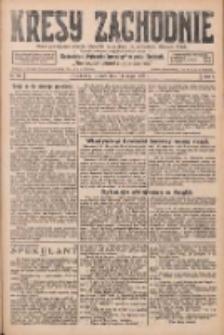 Kresy Zachodnie: pismo poświęcone obronie interesów narodowych na zachodnich ziemiach Polski 1926.05.11 R.4 Nr107