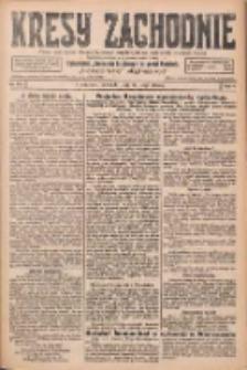 Kresy Zachodnie: pismo poświęcone obronie interesów narodowych na zachodnich ziemiach Polski 1926.05.16 R.4 Nr111