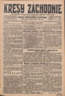 Kresy Zachodnie: pismo poświęcone obronie interesów narodowych na zachodnich ziemiach Polski 1926.05.19 R.4 Nr113