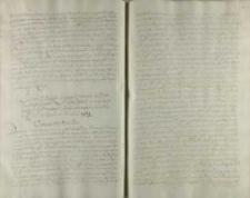 List od P. podkanclerzego koronnego do P. Garwaskiego kasztellana płockiego, gdzie wprzod de priuatis po tym o roznych Rzpltey powodzeniach z oboza z pod Smolenska 21 Nouembris 1609