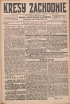 Kresy Zachodnie: pismo poświęcone obronie interesów narodowych na zachodnich ziemiach Polski 1926.05.21 R.4 Nr115