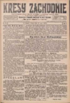 Kresy Zachodnie: pismo poświęcone obronie interesów narodowych na zachodnich ziemiach Polski 1926.05.22 R.4 Nr116