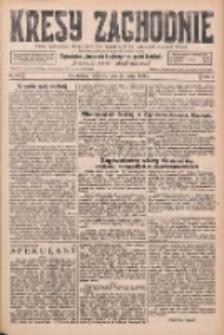 Kresy Zachodnie: pismo poświęcone obronie interesów narodowych na zachodnich ziemiach Polski 1926.05.27 R.4 Nr119
