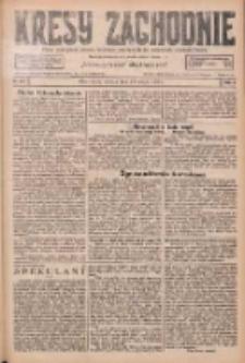 Kresy Zachodnie: pismo poświęcone obronie interesów narodowych na zachodnich ziemiach Polski 1926.05.29 R.4 Nr121