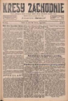 Kresy Zachodnie: pismo poświęcone obronie interesów narodowych na zachodnich ziemiach Polski 1926.05.30 R.4 Nr122