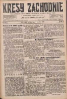 Kresy Zachodnie: pismo poświęcone obronie interesów narodowych na zachodnich ziemiach Polski 1926.06.01 R.4 Nr123