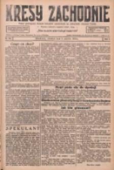 Kresy Zachodnie: pismo poświęcone obronie interesów narodowych na zachodnich ziemiach Polski 1926.06.03 R.4 Nr125