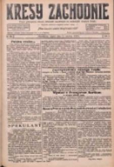 Kresy Zachodnie: pismo poświęcone obronie interesów narodowych na zachodnich ziemiach Polski 1926.06.11 R.4 Nr131
