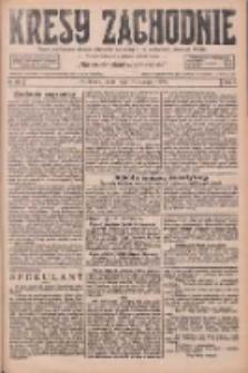 Kresy Zachodnie: pismo poświęcone obronie interesów narodowych na zachodnich ziemiach Polski 1926.06.16 R.4 Nr135