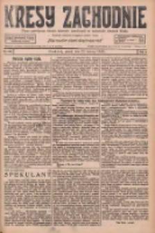 Kresy Zachodnie: pismo poświęcone obronie interesów narodowych na zachodnich ziemiach Polski 1926.06.25 R.4 Nr143