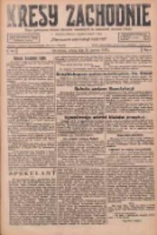 Kresy Zachodnie: pismo poświęcone obronie interesów narodowych na zachodnich ziemiach Polski 1926.06.26 R.4 Nr144