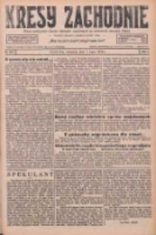 Kresy Zachodnie: pismo poświęcone obronie interesów narodowych na zachodnich ziemiach Polski 1926.07.01 R.4 Nr147