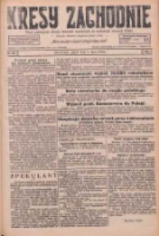 Kresy Zachodnie: pismo poświęcone obronie interesów narodowych na zachodnich ziemiach Polski 1926.07.02 R.4 Nr148