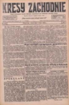 Kresy Zachodnie: pismo poświęcone obronie interesów narodowych na zachodnich ziemiach Polski 1926.07.03 R.4 Nr149