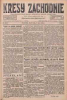 Kresy Zachodnie: pismo poświęcone obronie interesów narodowych na zachodnich ziemiach Polski 1926.07.06 R.4 Nr151