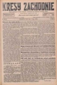 Kresy Zachodnie: pismo poświęcone obronie interesów narodowych na zachodnich ziemiach Polski 1926.07.07 R.4 Nr152