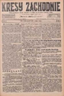 Kresy Zachodnie: pismo poświęcone obronie interesów narodowych na zachodnich ziemiach Polski 1926.07.09 R.4 Nr154