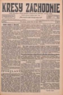 Kresy Zachodnie: pismo poświęcone obronie interesów narodowych na zachodnich ziemiach Polski 1926.07.10 R.4 Nr155