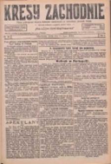 Kresy Zachodnie: pismo poświęcone obronie interesów narodowych na zachodnich ziemiach Polski 1926.07.14 R.4 Nr158