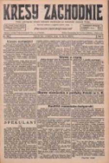 Kresy Zachodnie: pismo poświęcone obronie interesów narodowych na zachodnich ziemiach Polski 1926.07.15 R.4 Nr159
